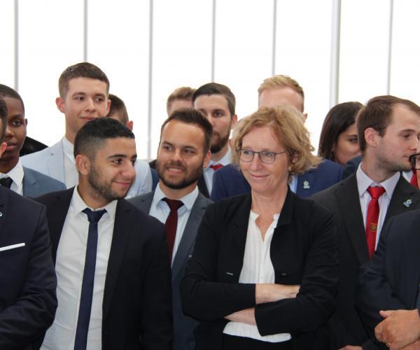 Rentrée de l'apprentissage avec la visite de Muriel Pénicaud, Ministre du Travail